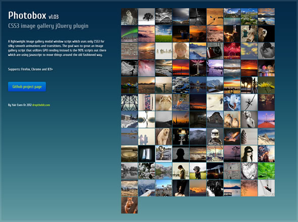 Image Gallery Script Jquery & CSS3