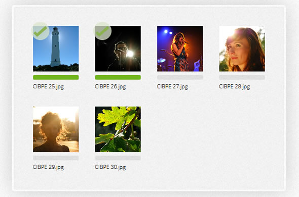 drag & drop image upload jquery