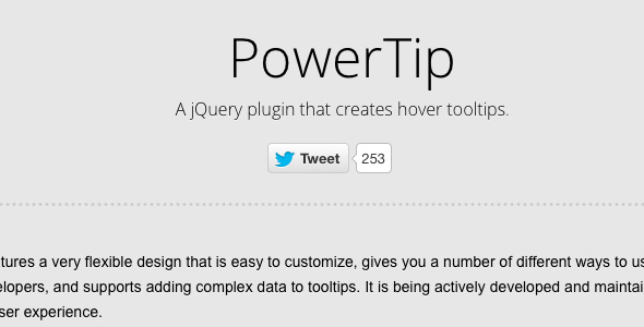 facebook tooltip with Jquery