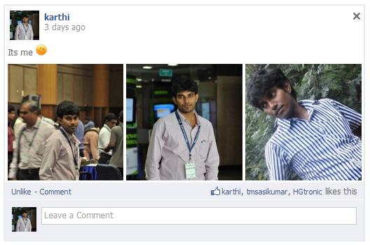 Multiple Image Upload Facebook