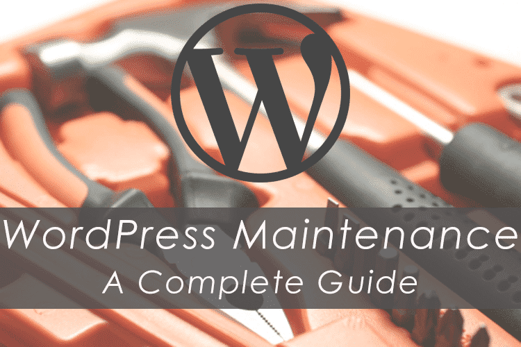 A Complete Guide On WordPress Maintenance