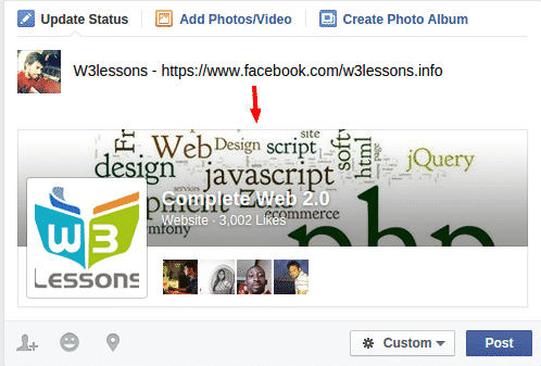 Facebook Url Expander using jQuery and PHP