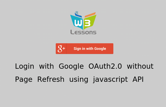 Login with Google OAuth 2.0 using PHP