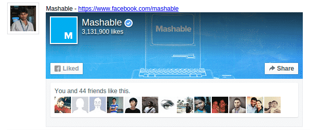 Embed Facebook Fan Page using jQuery and PHP