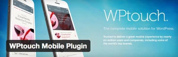 wptouch plugin
