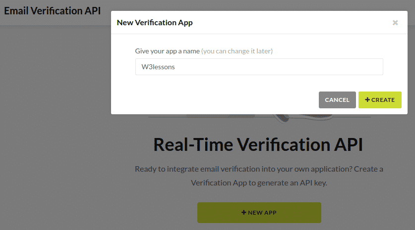 Email Verification App