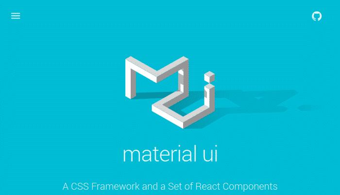 material-ui-css-framework